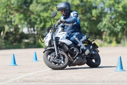 Motorrijbewijspoint Amstelveen motor rijtest